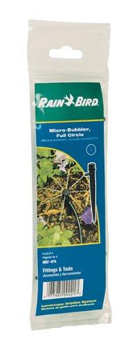 Rain Bird MBF4PKS Drip Irrigation Micro-Bubbler on Stake, 360° Full Circle Patt...