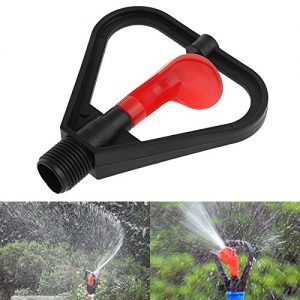 "Techinal 1/2"" DN15 Plastic Irrigation Sprinkler Garden Nozzle 360 Degree Automatic Water Spray"