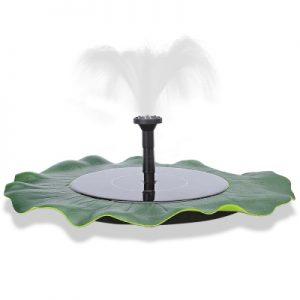 Pond Garden Pool Irrigation Water Pump Floating Solar Fountain